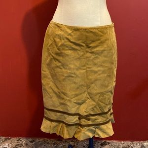 Searle suede skirt